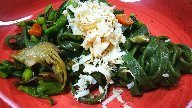 Pasta Fresca agli Spinaci. Più Green di così non si può…