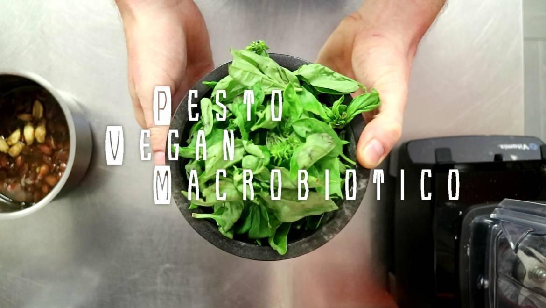 Vitamix, pesto vegan macrobiotico
