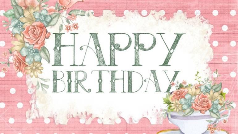 Buon Vero Compleanno!