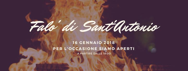 Falò di Sant'Antonio al Vero restaurant Varese – 16 Gennaio 2018